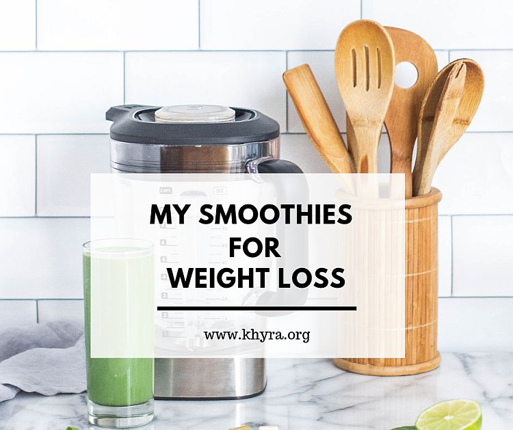 My Smoothies For Weight Loss