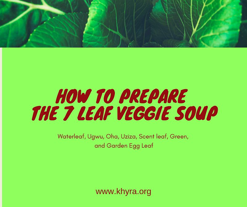 The Seven Leaf Vegetable Soup