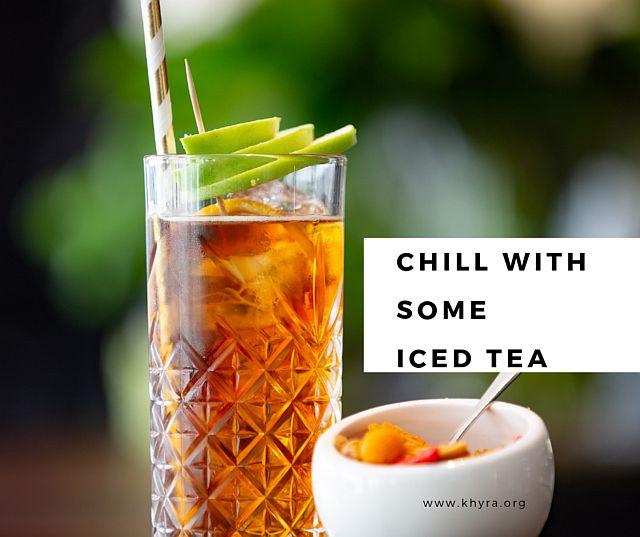 1. Iced Tea Month